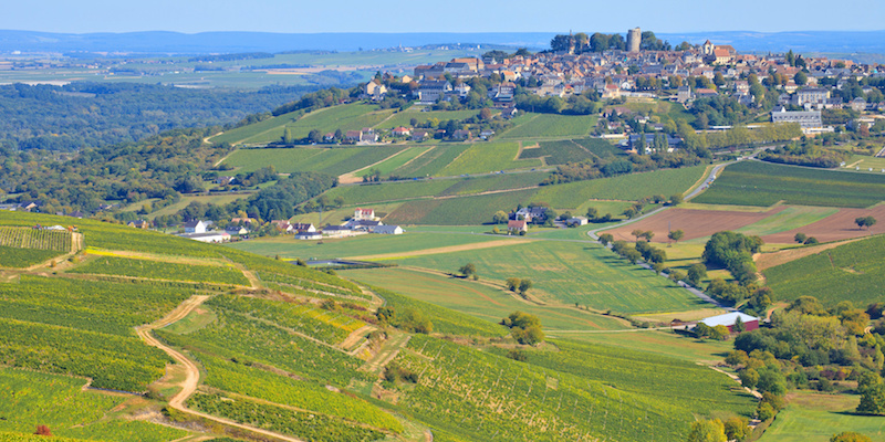 view of the town of sancerre